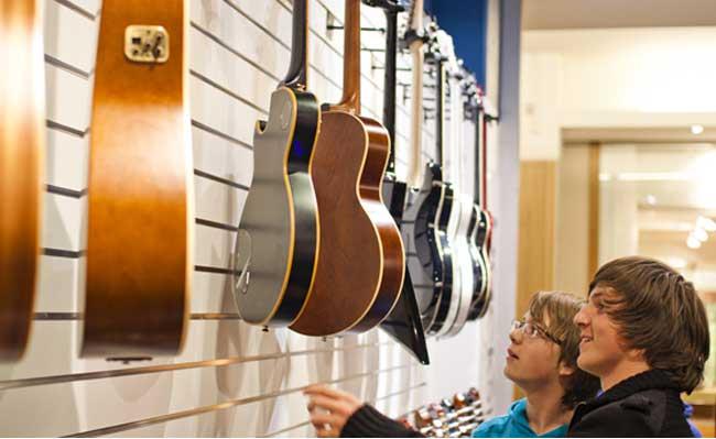 Tips til kjøp av gitar